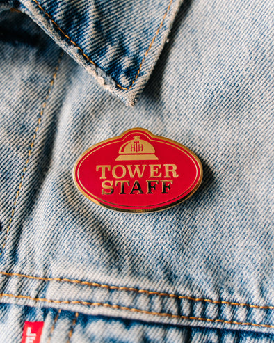 Tower Staff Pin