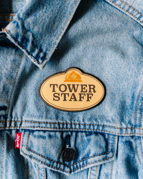 Tower Staff Patch