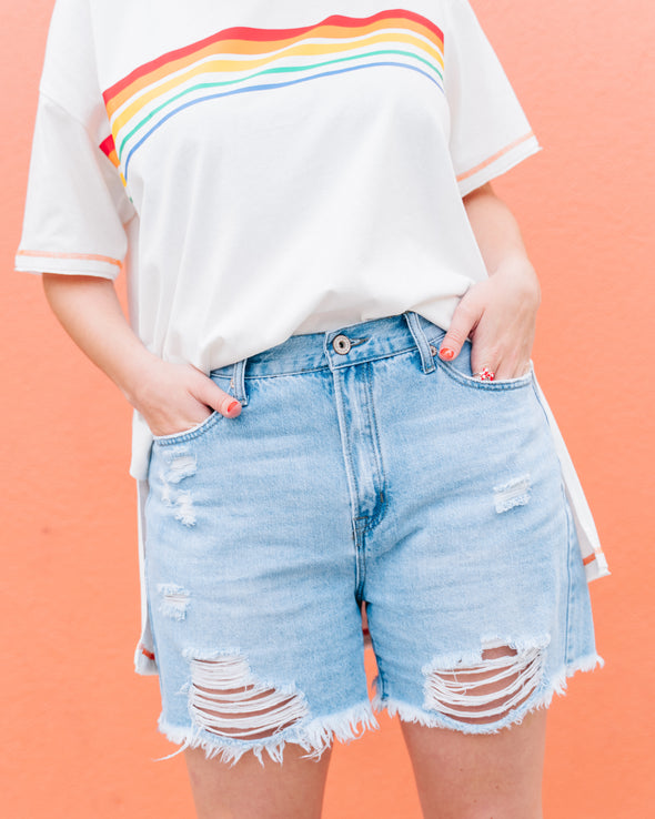 Adventures Out There Denim Shorts