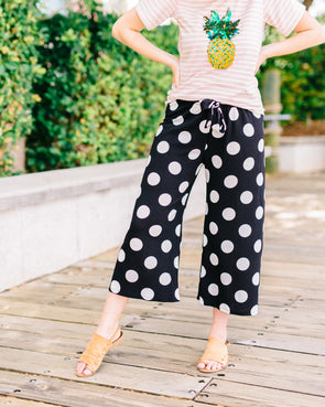 Icon Dotted Pants