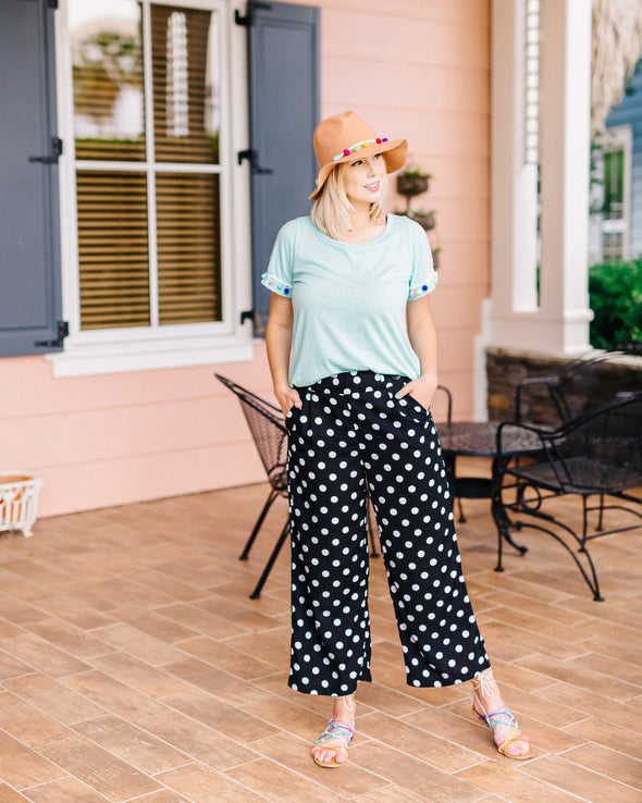 Any & Every Occassion Dotted Pants