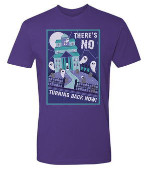 No Turning Back Now Tee - Purple