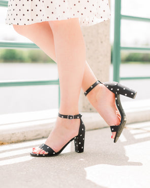 Meant To Be Dotted Heels