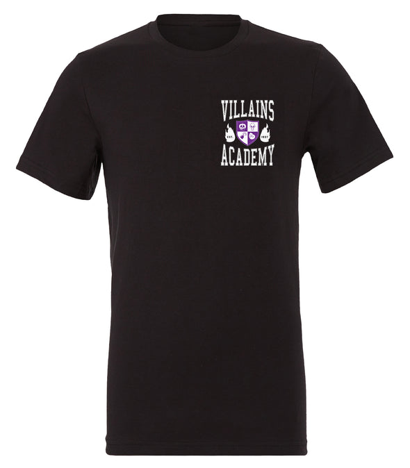 Villains Academy Tee - Black
