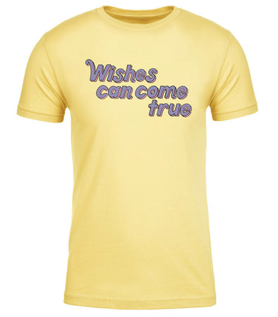 Wishes Can Come True Tee - Yellow