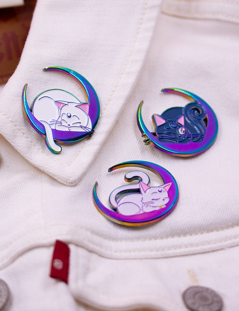 SAILOR CATS RAINBOW METAL LIMITED EDITION PINS