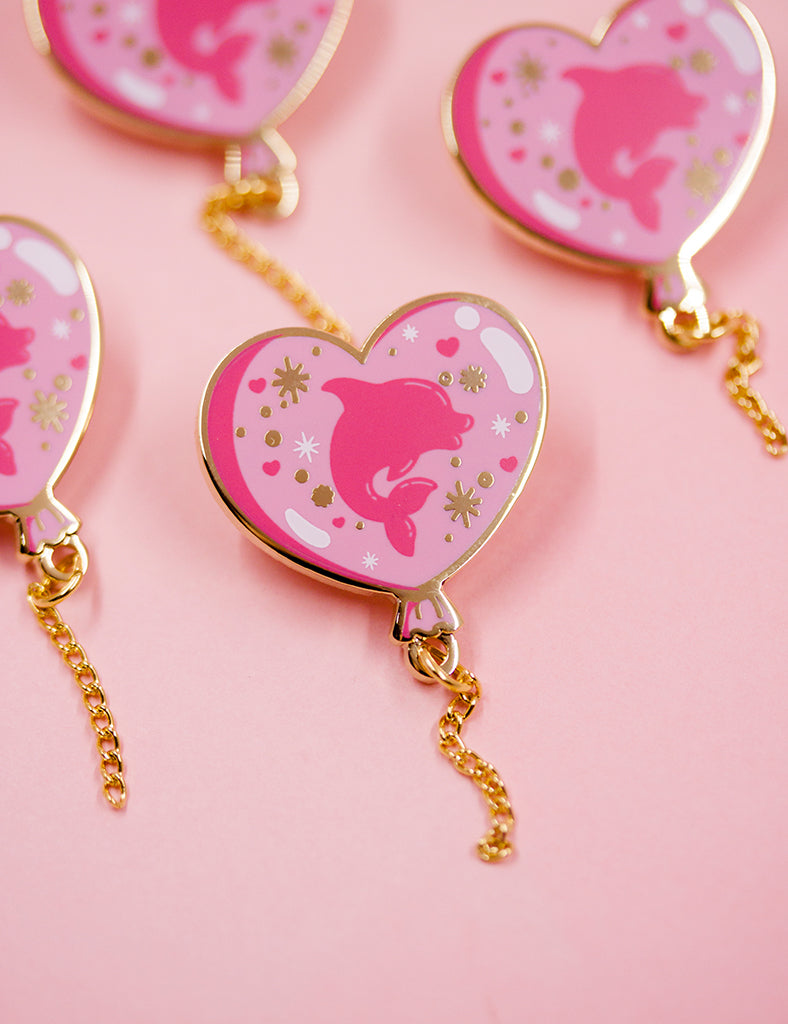 Pink Samurai & Friends LIMITED EDITION PIN
