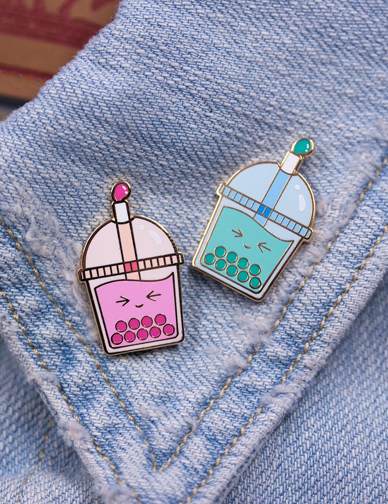 Bubble Par-Tea pin