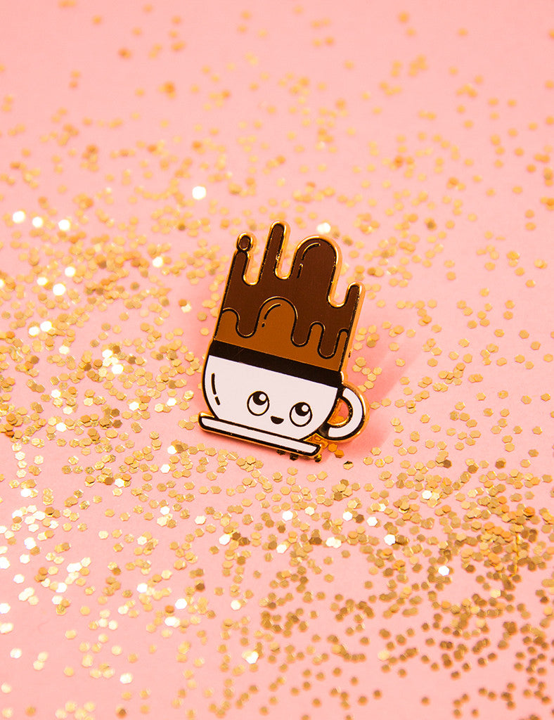 Coffee Buddy Pin