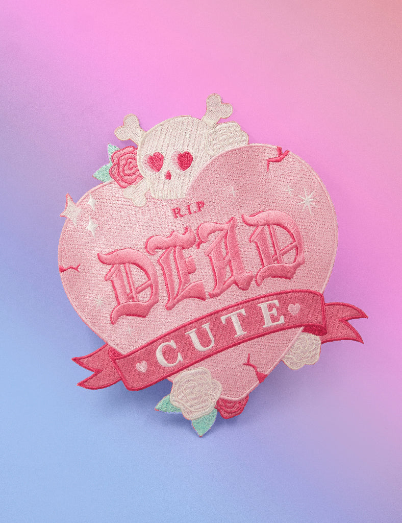 Dead Cute Back patch