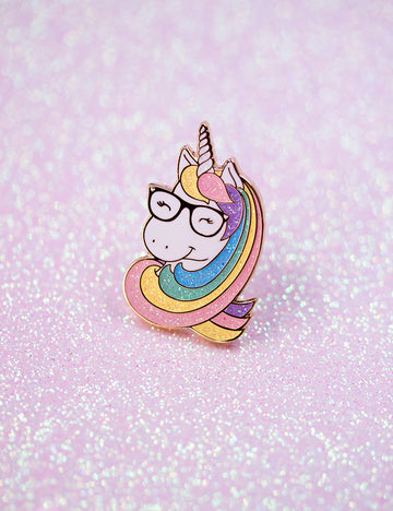 GEEKY UNICORN PIN