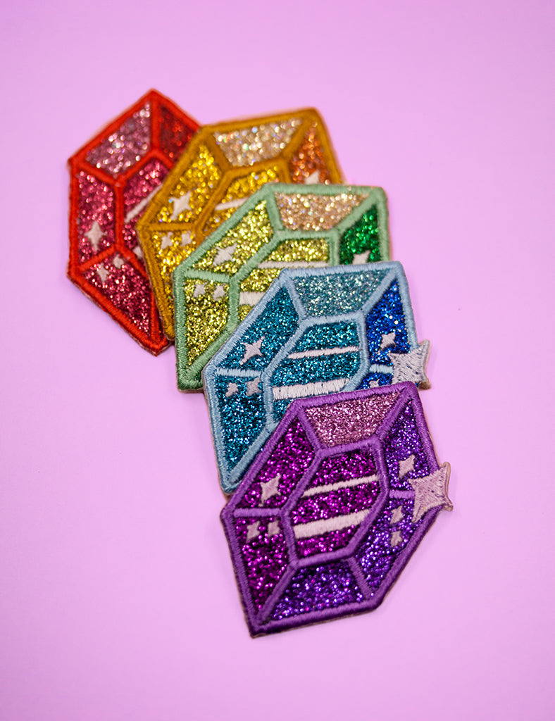 Gem glitter PATCHES