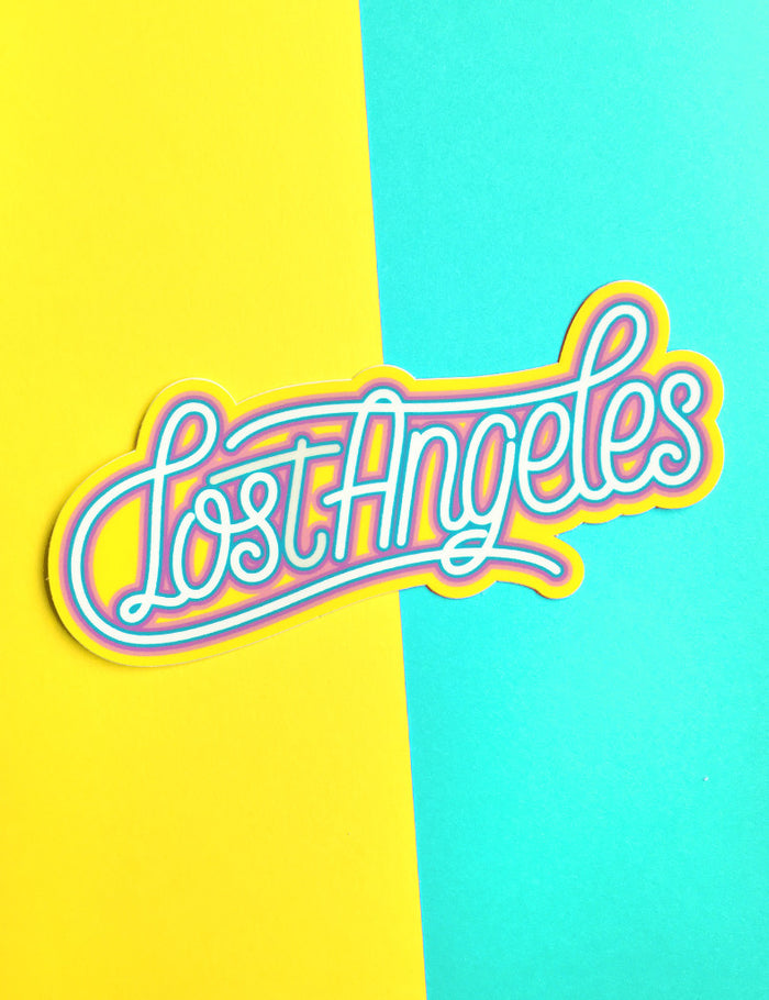 Lost Angeles sticker