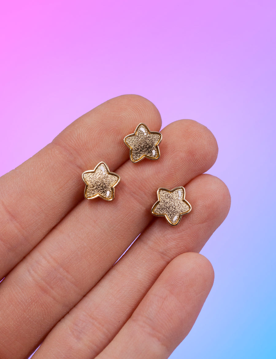 Mini star pin set - Gold edition