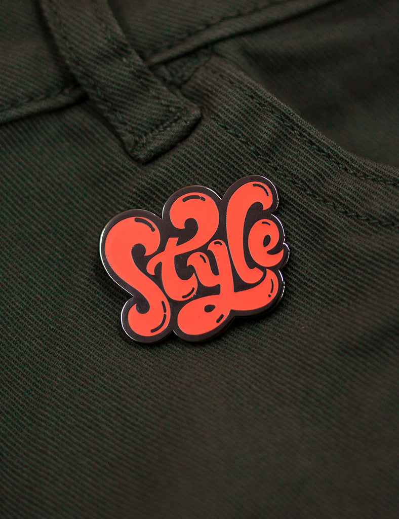STYLE PIN - Neon Orange