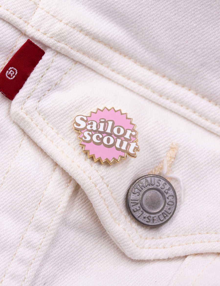 Sailor Scout Pin