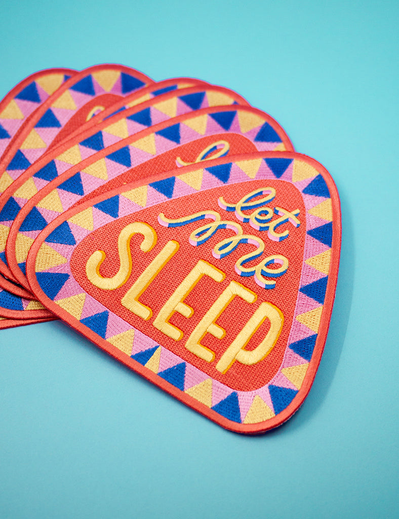 LET ME SLEEP BACK PATCH