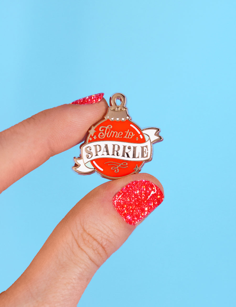 Time to sparkle PIN
