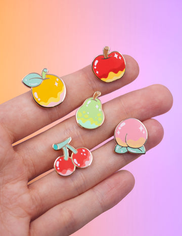 Island fruit pins