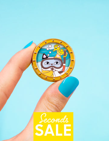 Scuba Cat ❤ JB + Natelle Draws Stuff SECONDS SALE!