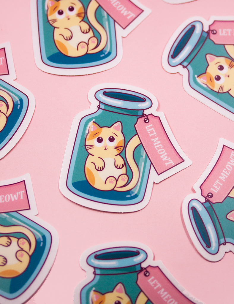 LET MEOWT STICKERS