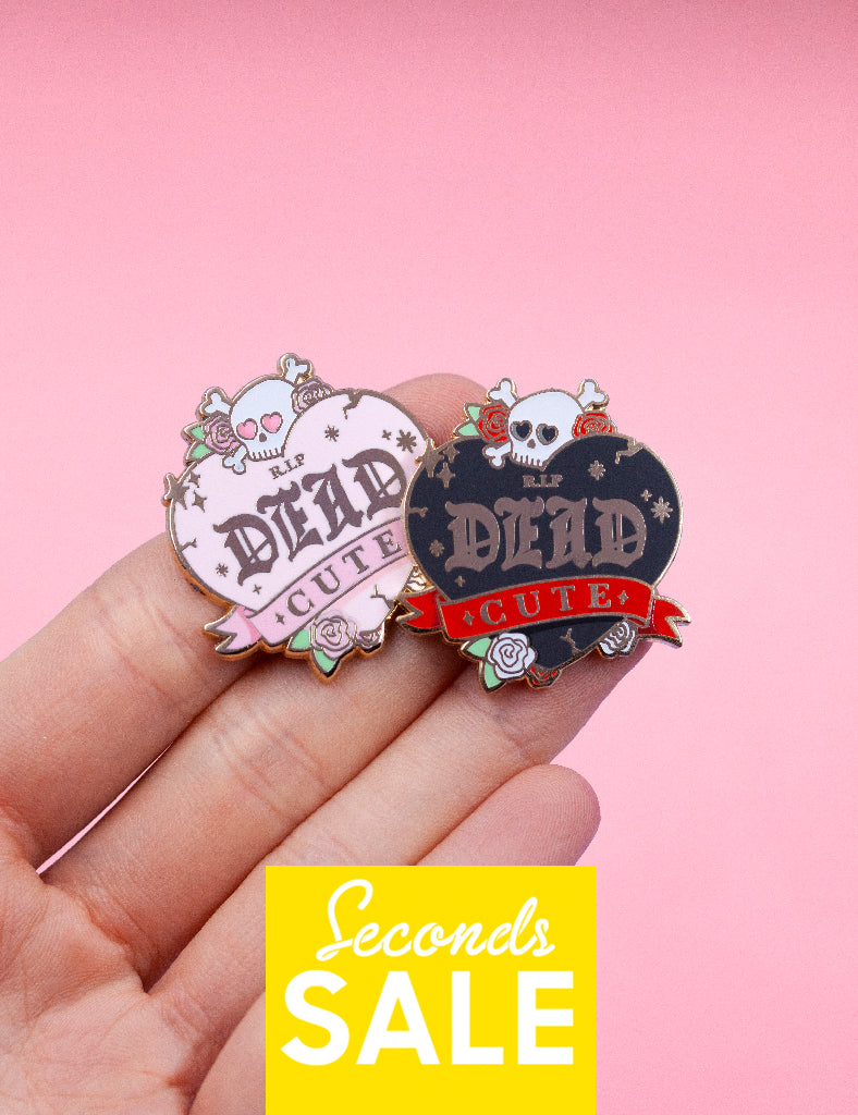 Dead Cute Pins - SECONDS