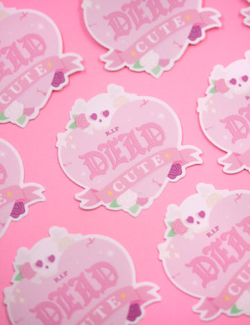 Dead Cute STICKERS