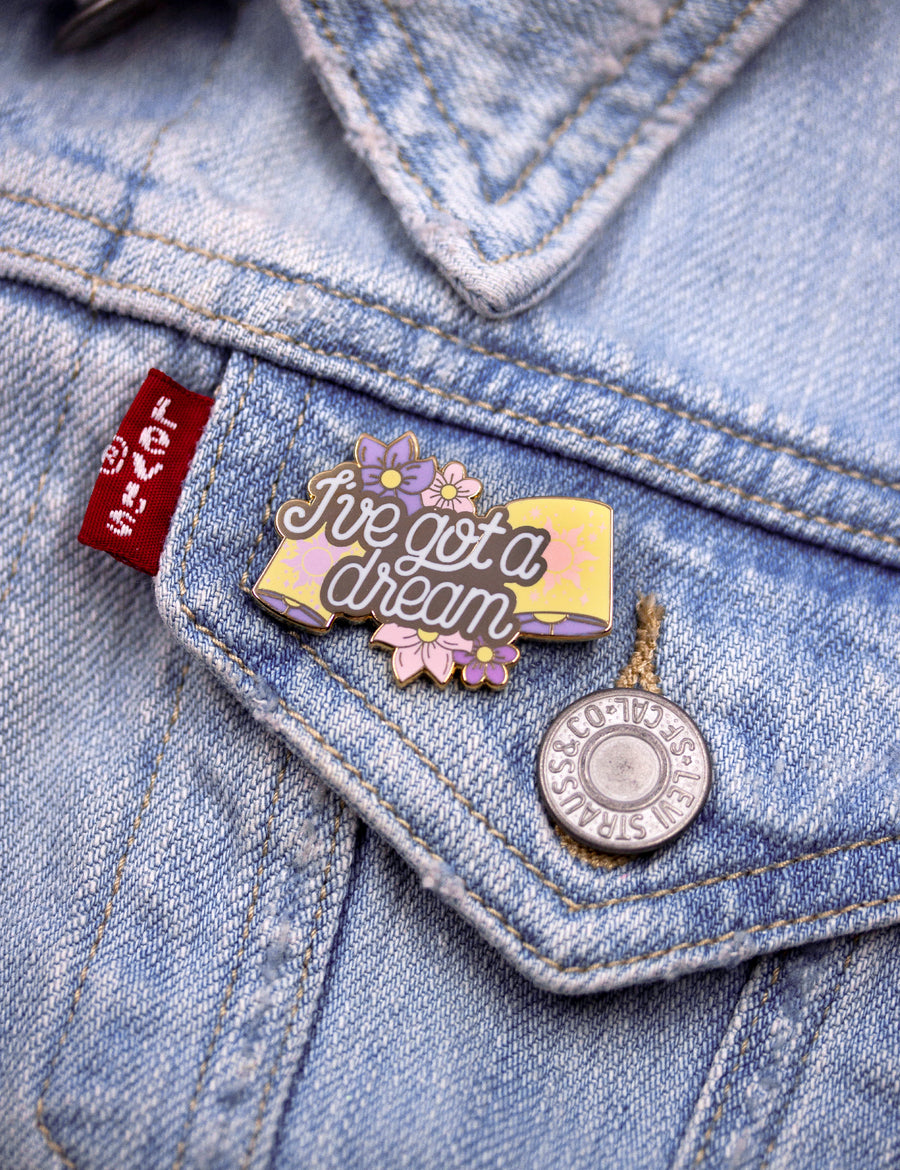 I've got a dream pin