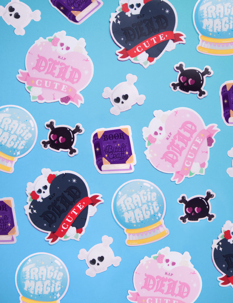 Loving Skull STICKERS