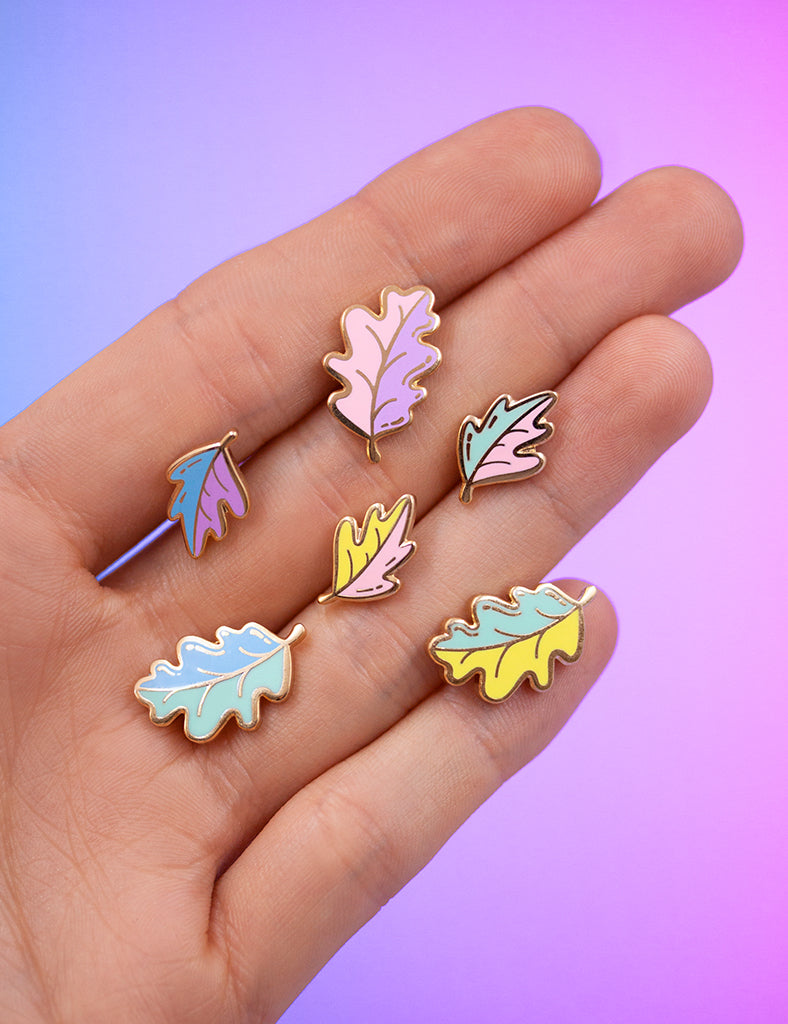 Magical leaves Pin sets