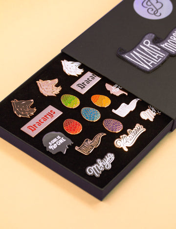 Game of Thrones End of watch pin set