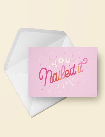 You nailed it! postcard