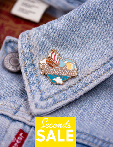 Neverland Pin - SECONDS