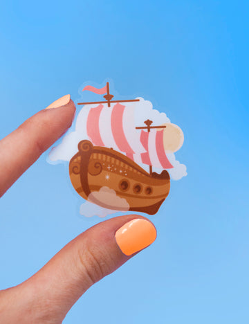 Neverland boat STICKERS