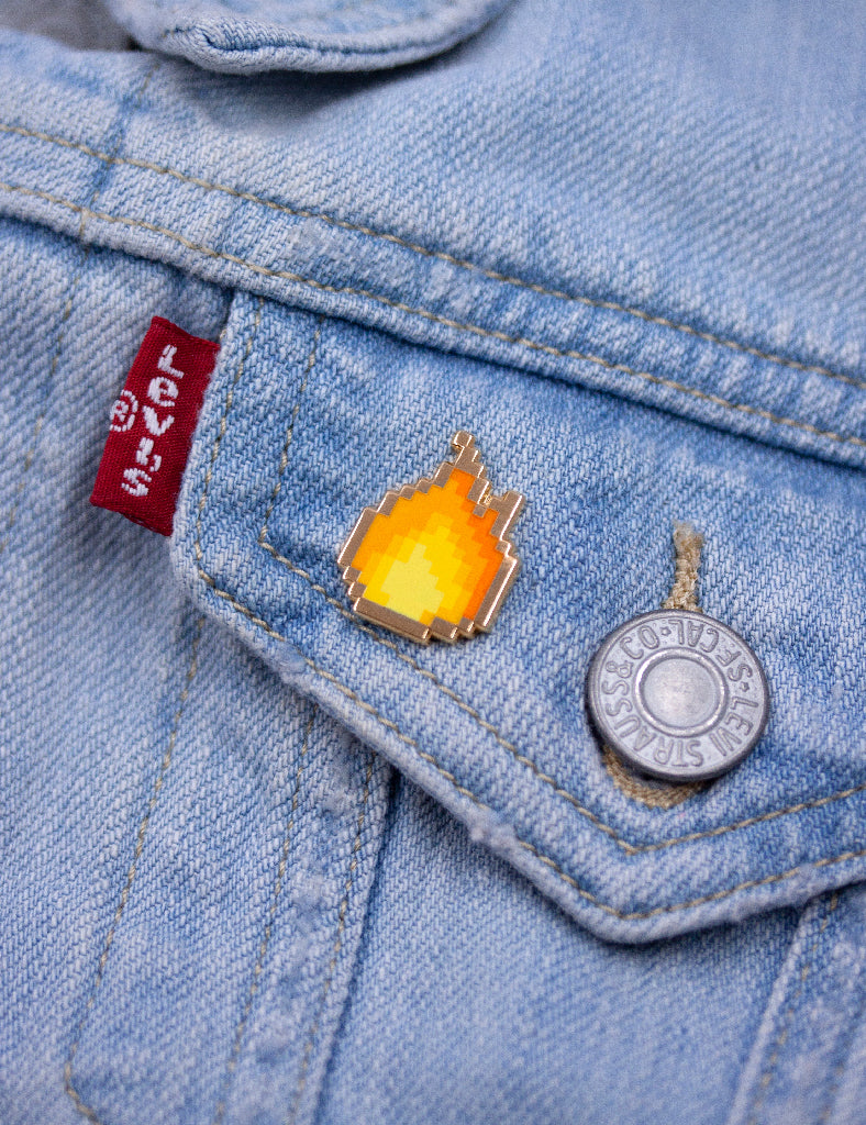 Fire pixel pin