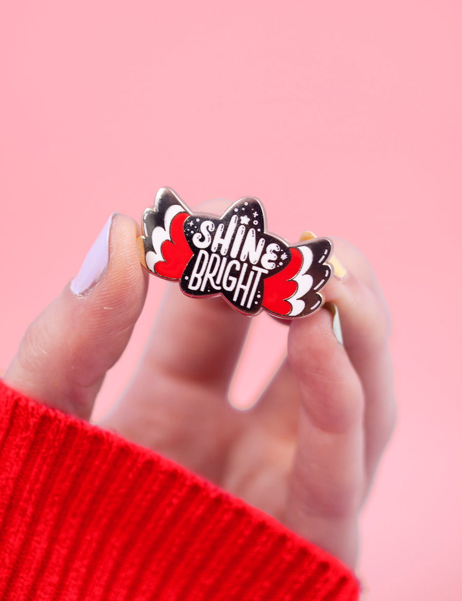 Celeste Shine Bright pin