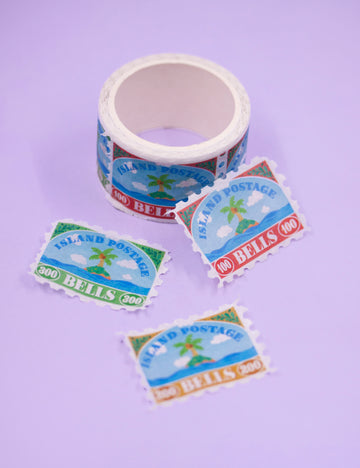Bell stamp washi tape
