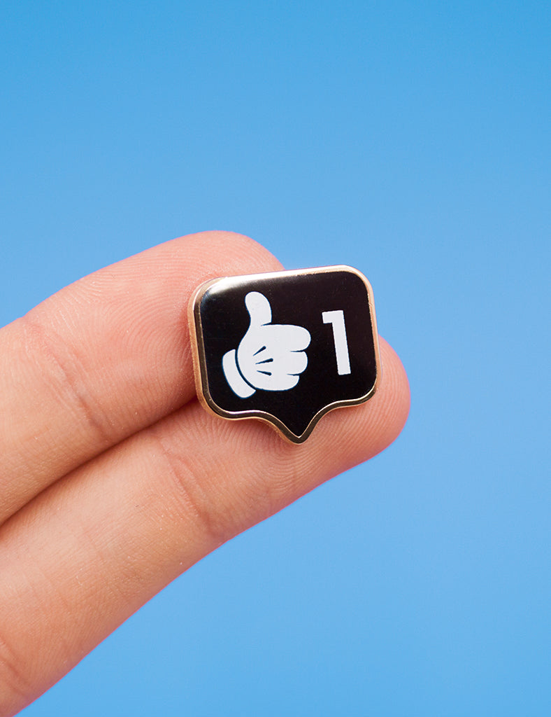 Thumbs Up! limited edition pin