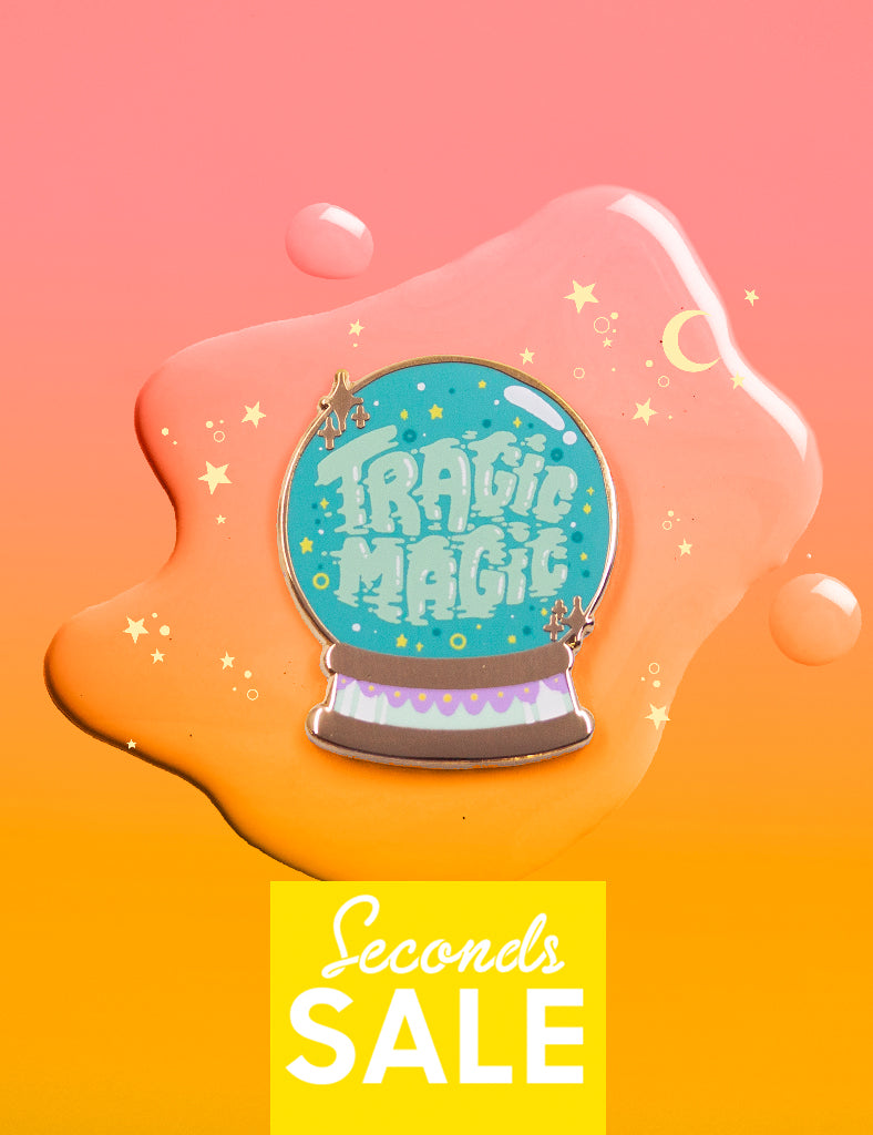 Tragic Magic pin - SECONDS