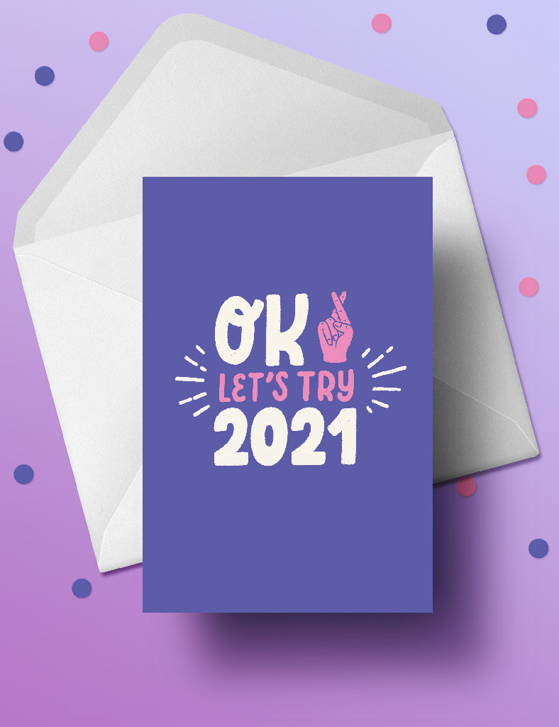 Let's try 2021 postcard