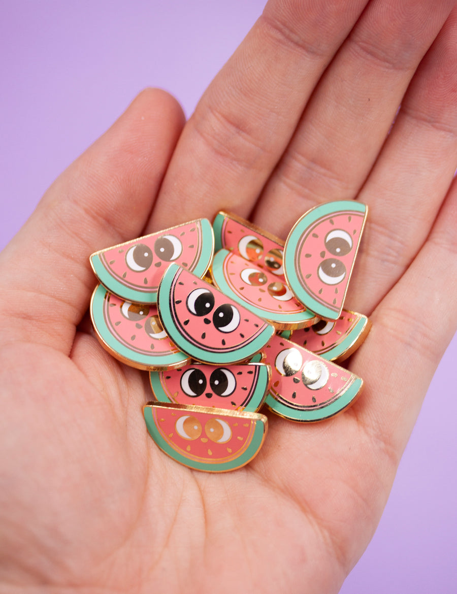 Fresh watermelon pin