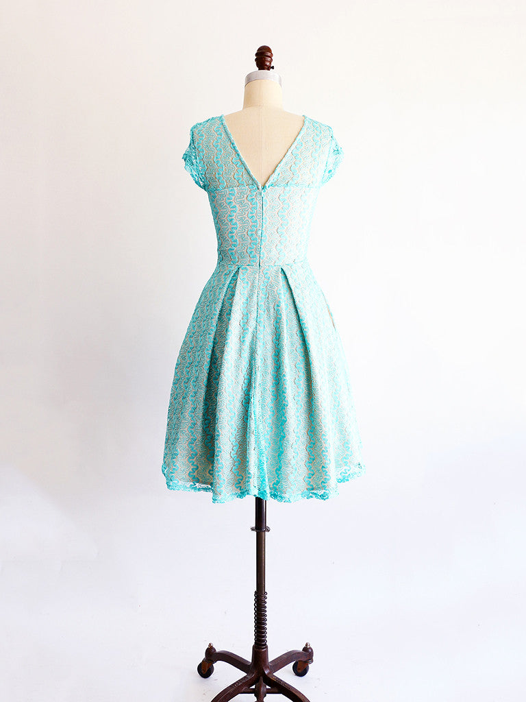 Apricity | GOSSAMER Dress in Lake Aqua Blue