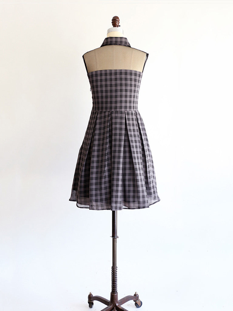 WILLOW | Gray Checker