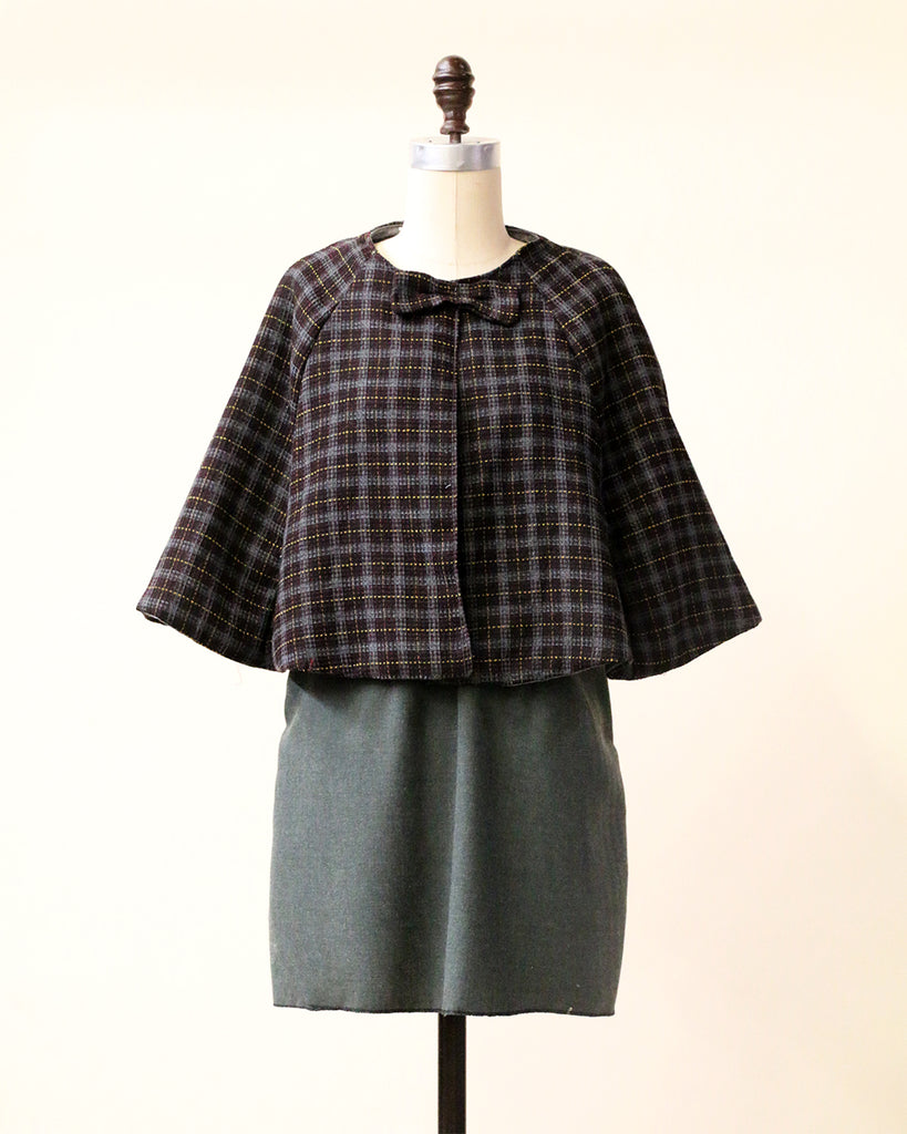 :: Handmade :: SYDNEY Dress - Olive Wool