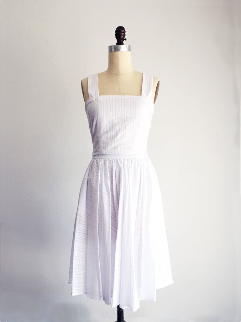 LAWN | White | Skirt - UNLINED