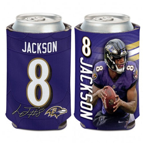 Baltimore Ravens Can Cooler 12 oz. Lamar Jackson