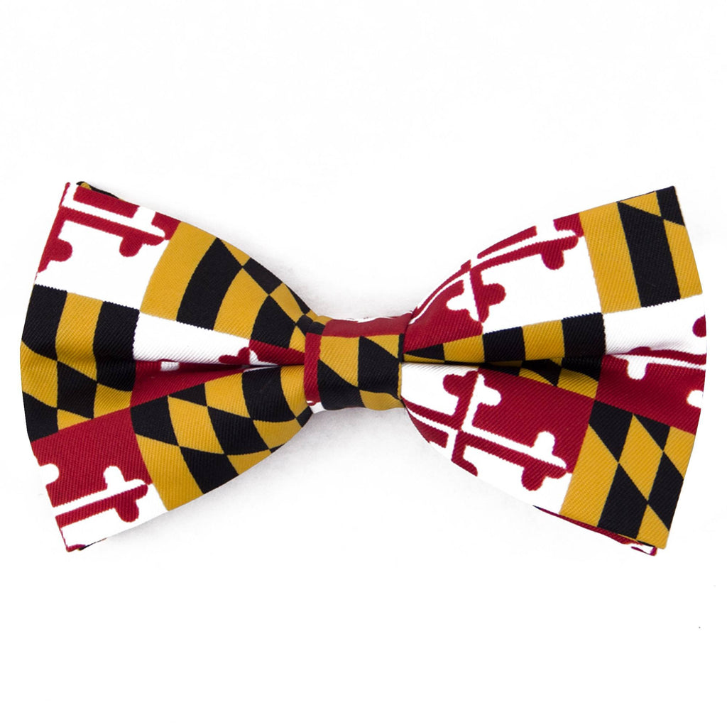 Maryland Flag Bowtie
