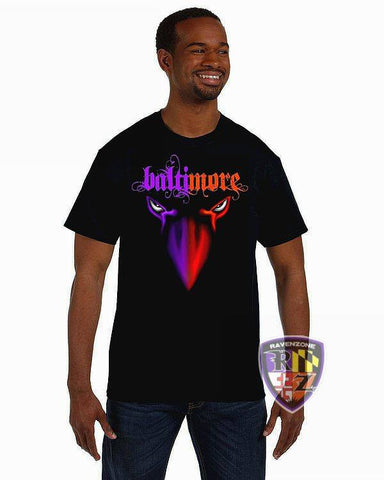 Baltimore 2Face Birds Ravens & Orioles T-Shirt