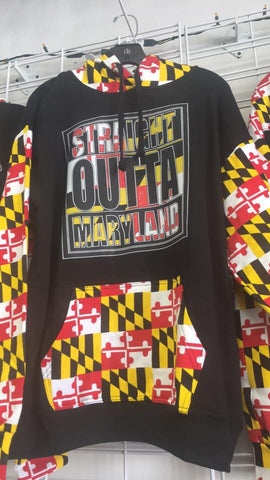 Straight Outta Maryland Hoodie