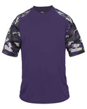 Camo Purple Straight Out Of Baltimore Tshirt